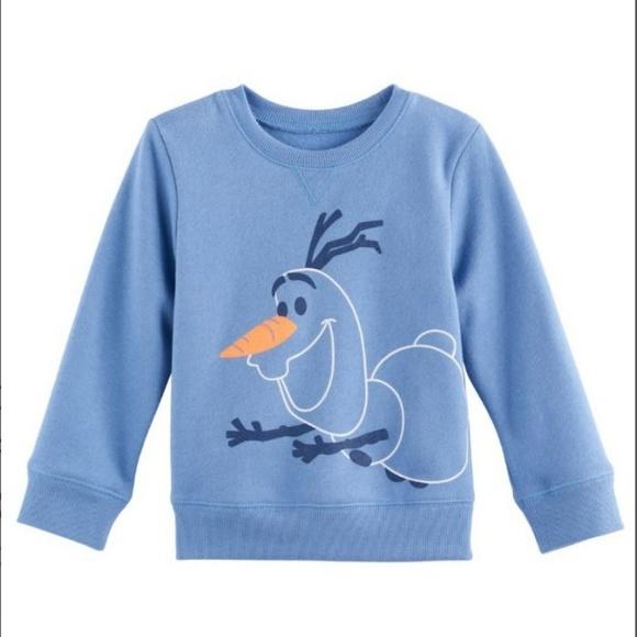 23b72aba Disney Shirts & Tops   Nwt Frozen Olaf Fleece Sweater Top   Poshmark